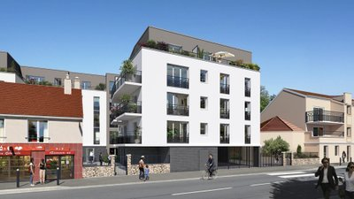 Coeur Jaurès - immobilier neuf Trappes