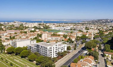Faubourg Mazargues - immobilier neuf Marseille