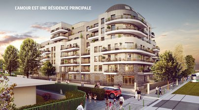 L'amour Est Principal - immobilier neuf Colombes