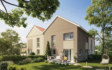 Les Carres Eoles - immobilier neuf Is-sur-tille