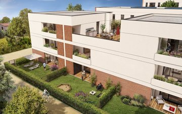 Résidence Faubourg Tolosa - immobilier neuf Toulouse