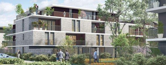Les Jardins D'idyllis - Coeur De Ville - immobilier neuf Nantes