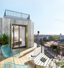 Le Prismatic - immobilier neuf Paris