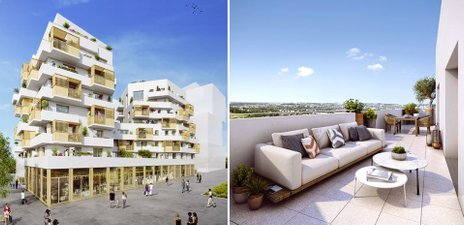 Les Terrasses Magellan - immobilier neuf Noisy-le-grand