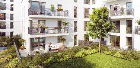 Coeur Utrillo - immobilier neuf Sannois