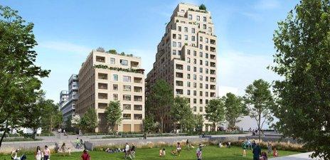 Central Parc - immobilier neuf Asnières-sur-seine