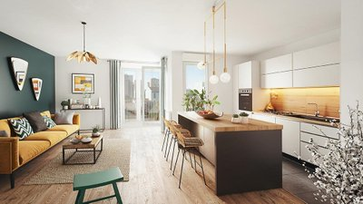 Rue Gustave Courbet - immobilier neuf Bagneux