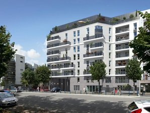 62 Roosevelt - immobilier neuf Aubervilliers