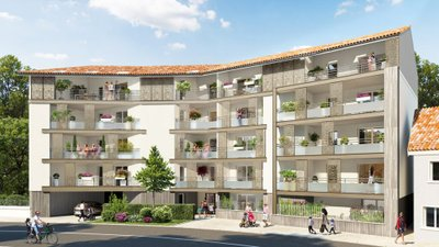Les Balcons Du Centre - immobilier neuf Chasse-sur-rhône