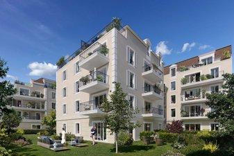 Les Terrasses D'alembert - immobilier neuf Le Blanc-mesnil