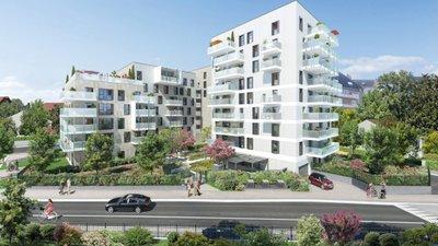 Les Terrasses De L'helvétie - immobilier neuf Ambilly