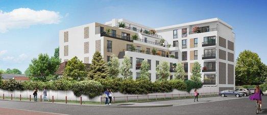Villa D'avron - immobilier neuf Rosny-sous-bois