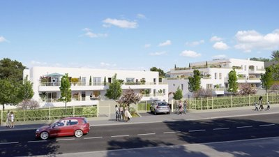 Villa Blanca - immobilier neuf Marseille