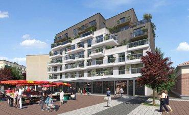 Place Jacob - immobilier neuf Livry-gargan