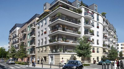 Le Plaza 2 - immobilier neuf Sartrouville
