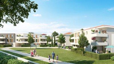 Les Jardins De L'etang - immobilier neuf Vitrolles