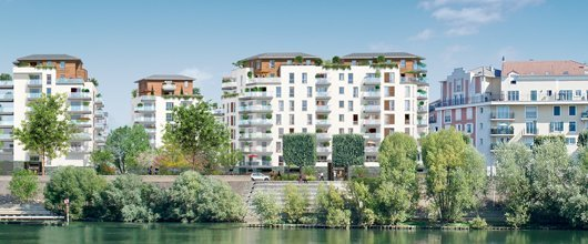 Nature En Seine - immobilier neuf Alfortville