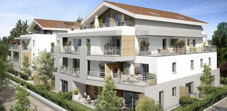Villa Séréna - immobilier neuf Prévessin-moëns