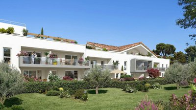 Villa Vert Marine - immobilier neuf La Garde