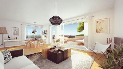 Le Belvedere - Bordoriva - immobilier neuf Bordeaux