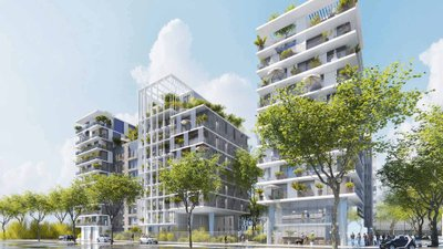 Atrium Seine - immobilier neuf Clichy