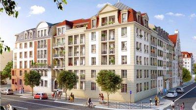 Le Domaine De La Reine - immobilier neuf Le Blanc-mesnil