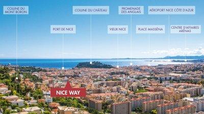 Nice Way - Nue Propriété - immobilier neuf Nice