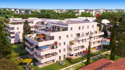 Domaine D'antonin Vauguières - immobilier neuf Montpellier
