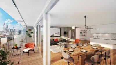 122 Damrémont - immobilier neuf Paris
