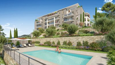 Roses Marine - Domaine Privé - immobilier neuf Grasse