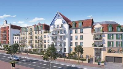 Le Chemin De Saint Jacques - immobilier neuf Le Blanc-mesnil