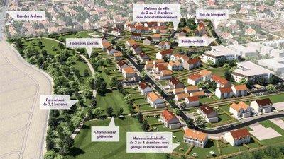Le Parc Des Archers - immobilier neuf Montlhéry