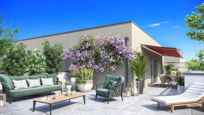 Carré Ikebana - immobilier neuf Caluire-et-cuire