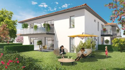 Closerie Saint-simon - immobilier neuf Toulouse