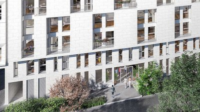 Stud'in Rose Guérin - immobilier neuf Clichy