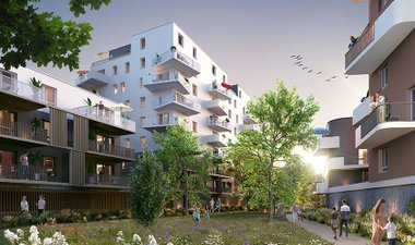 Les Allées Gutenberg - immobilier neuf Schiltigheim