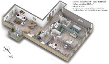 Le Hameau - immobilier neuf Moussy-le-vieux