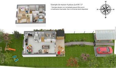Les Allees D'olympe - immobilier neuf Montlouis-sur-loire
