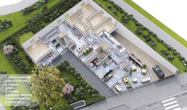 Green Academy - immobilier neuf Rennes