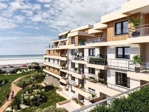 Face Mer-stella Plage - immobilier neuf Stella-plage