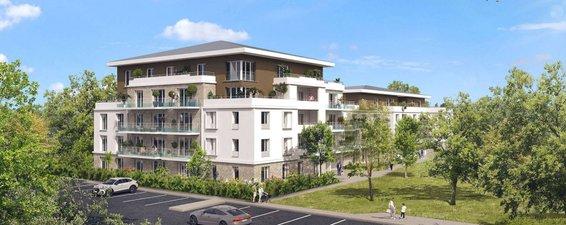 Lieusaint à Deux Pas Du Centre Commercial Carré Sénart - immobilier neuf Lieusaint
