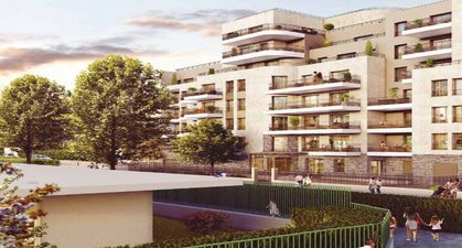 Colombes Proche Parc Lagardère - immobilier neuf Colombes