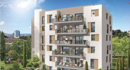 Marseille 14 Secteur Saint-jérôme - immobilier neuf Marseille