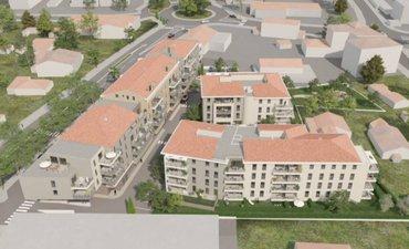 Six-four-les-plage Coeur De Quartier Résidentiel - immobilier neuf Six-fours-les-plages