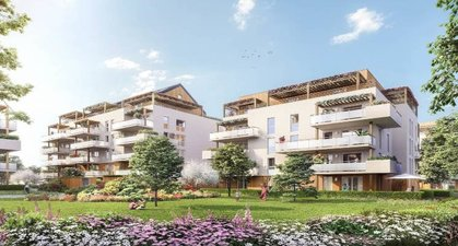 Rumilly à 800 M De La Mairie - immobilier neuf Rumilly