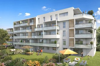 Annemasse Proche Gare Et Commerces - immobilier neuf Annemasse