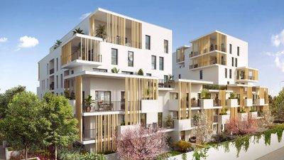 Villeurbanne à 500 Mètres Du Métro - immobilier neuf Villeurbanne