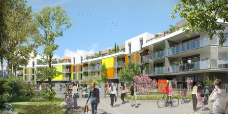 New Park Allondon - immobilier neuf Saint-genis-pouilly
