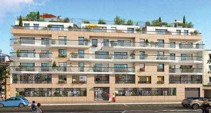 Clichy-la-garenne Proche De La Gare - immobilier neuf Clichy