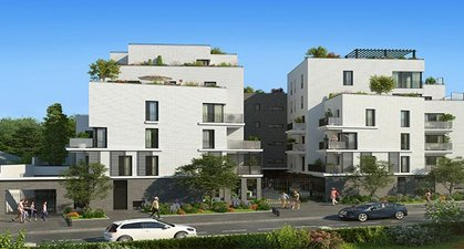 Rueil-malmaison Quartier Richelieu-chataigneraie - immobilier neuf Rueil-malmaison